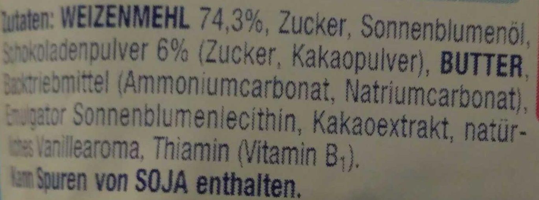 Alete Kinderkeks Schoko - Inhaltsstoffe - de