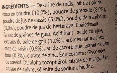 True Beauty - Ingredients - fr