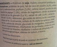 Fit cappuccino - Ingrédients - fr