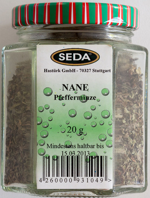 Pfefferminze - Produkt