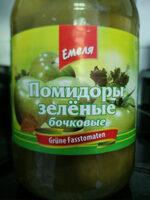 Помидоры зелёные бочковые - Product - ru
