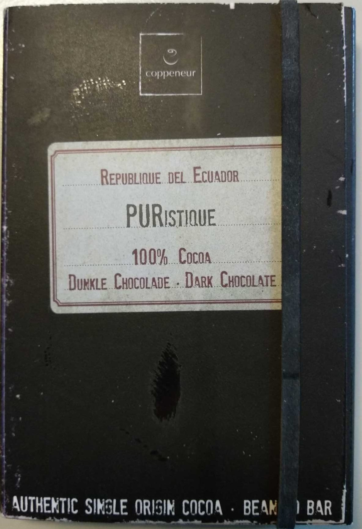 Republica del Ecuador • PURistique • 100% Cocoa - Product - de