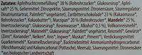 Bio Dominosteine - Ingredienti - de