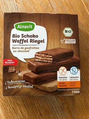 Barres de Gaufrettes au Chocolat - Produit