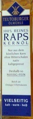 Raps Kernöl - Produit - de