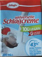 Universelle Schlagcreme - Produkt - de