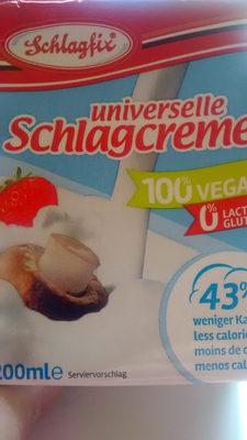 Universelle schlagcreme - Product - en