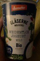 Weidemilch Joghurt Mild - Produkt - de