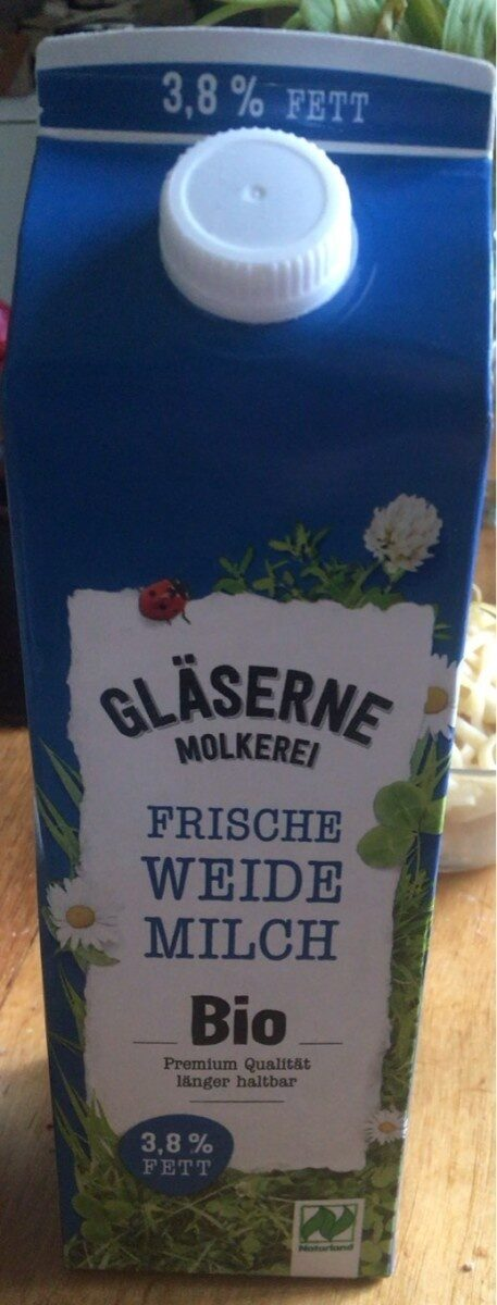 Frische weide milch - Produkt - de