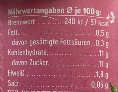 Buttermilchdrink Himbeere - Produkt - de
