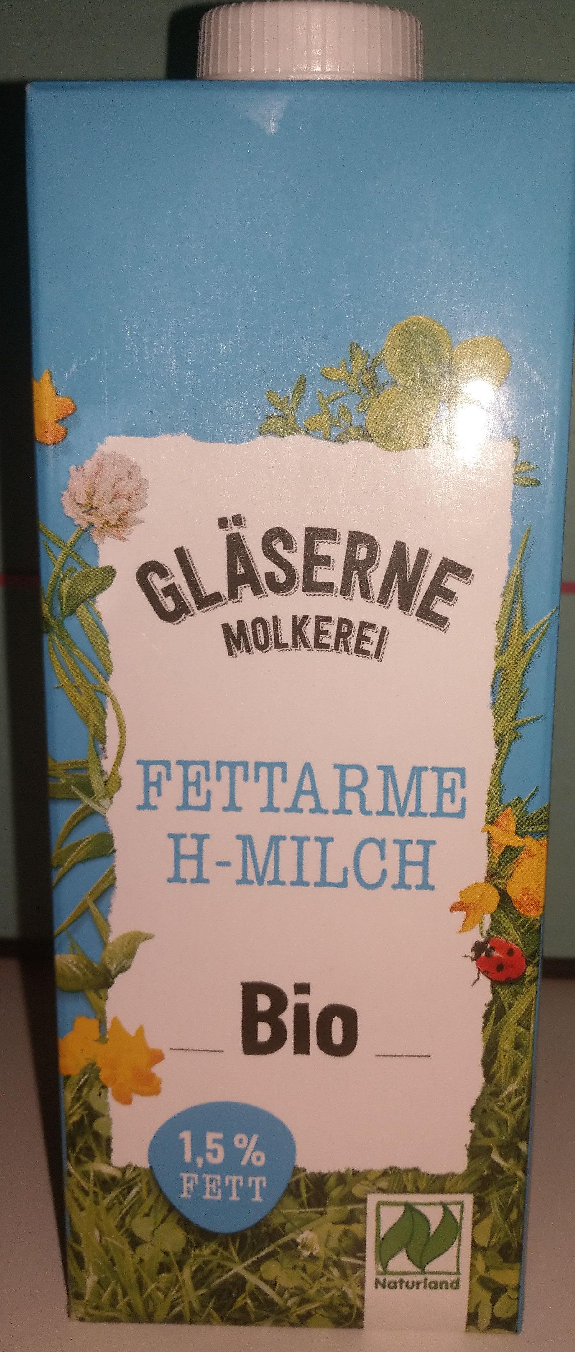 Fettarme H-Milch Bio 1,5% Fett - Produkt