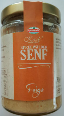 Spreewälder Senf Feige - Produkt