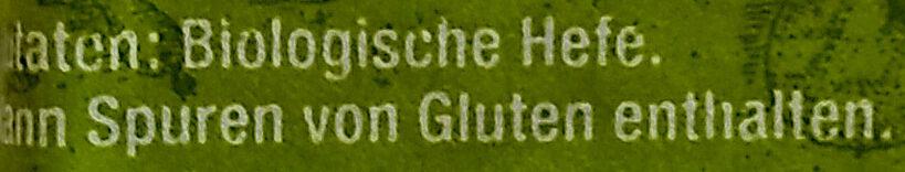 Bio Hefe - Ingrediënten - de