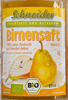 Birnensaft - Product