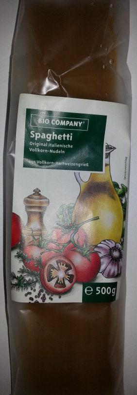 Spaghetti Vollkornhartweizengrieß - Product