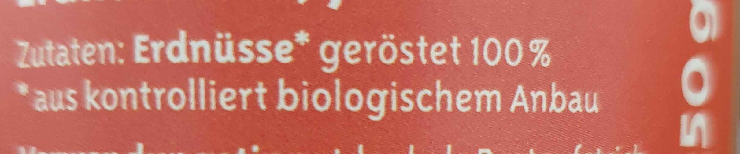Erdnussmus - Ingredients - de