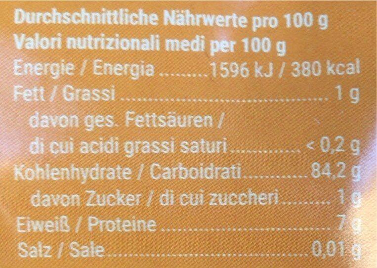 Cornflakes ungesüßt - Nährwertangaben - de