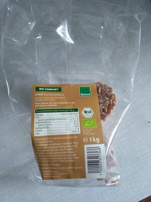 Dinkel aus Deutschland - Product - de