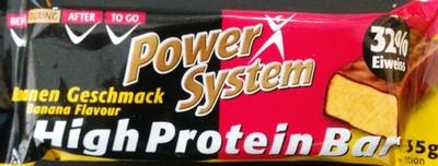 High Protein Bar – Bananengeschmack - Produkt