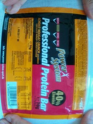 Professional Protein Bar Schoko Nougat Crunch Geschmack - Product - en