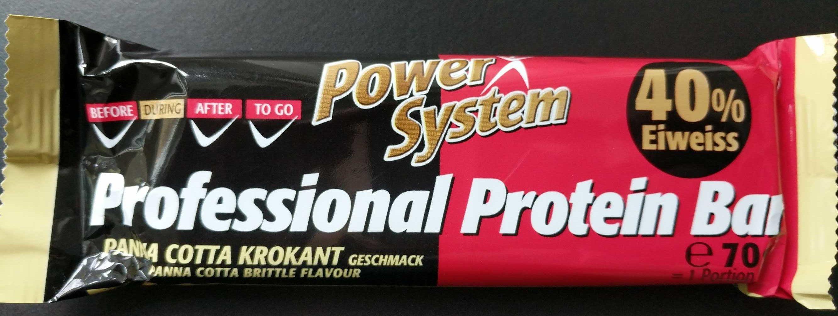 Professional Protein Bar Panna Cotta Krokant Geschmack - Produit - de