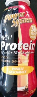 High Protein Vanille Geschmack - Produkt