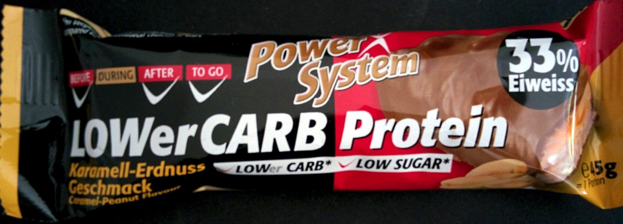 LOWerCARB Protein Karamell-Erdnuss-Geschmack - Produit - de
