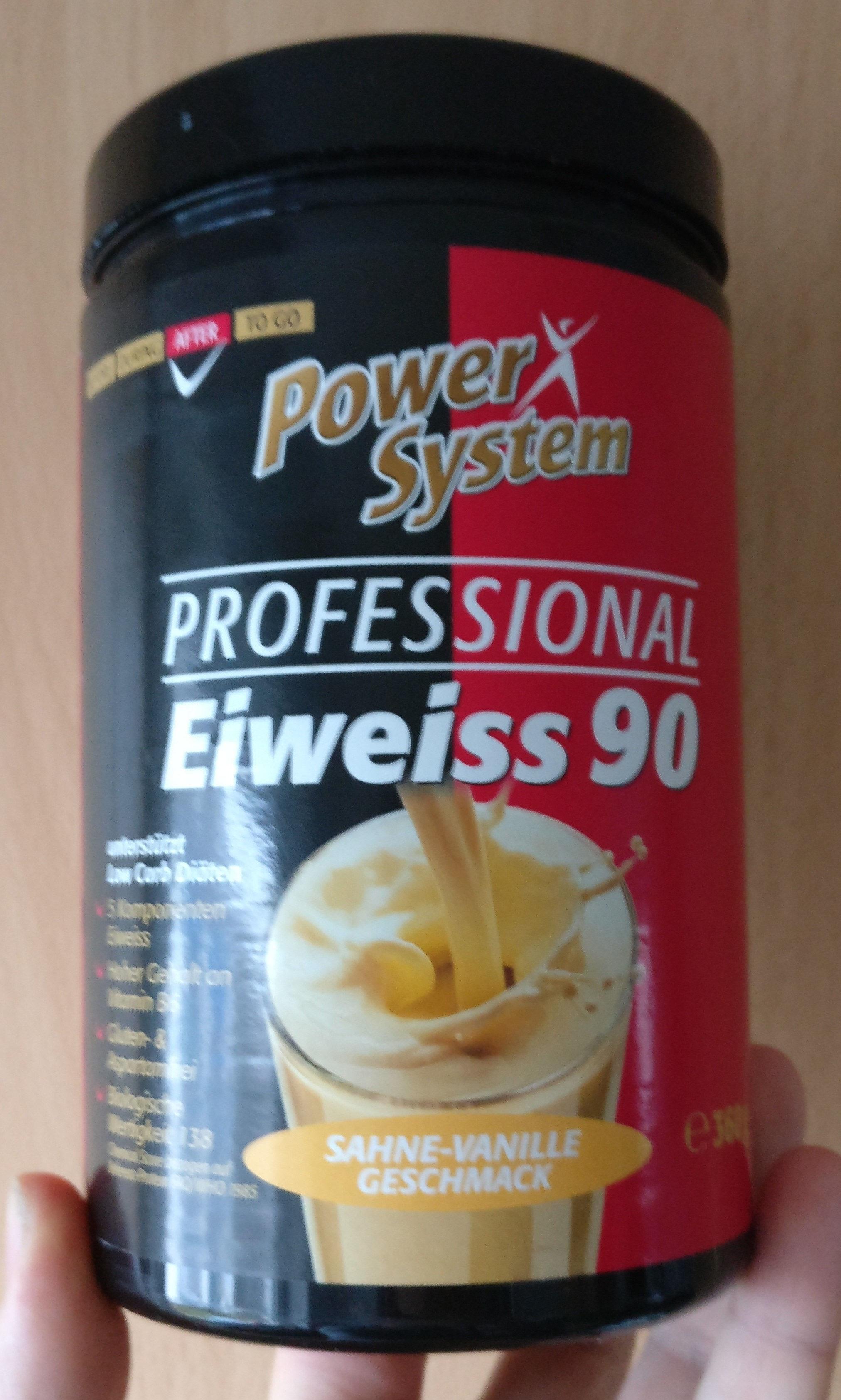 Eiweiß 90 Sahne-Vanille - Prodotto - de