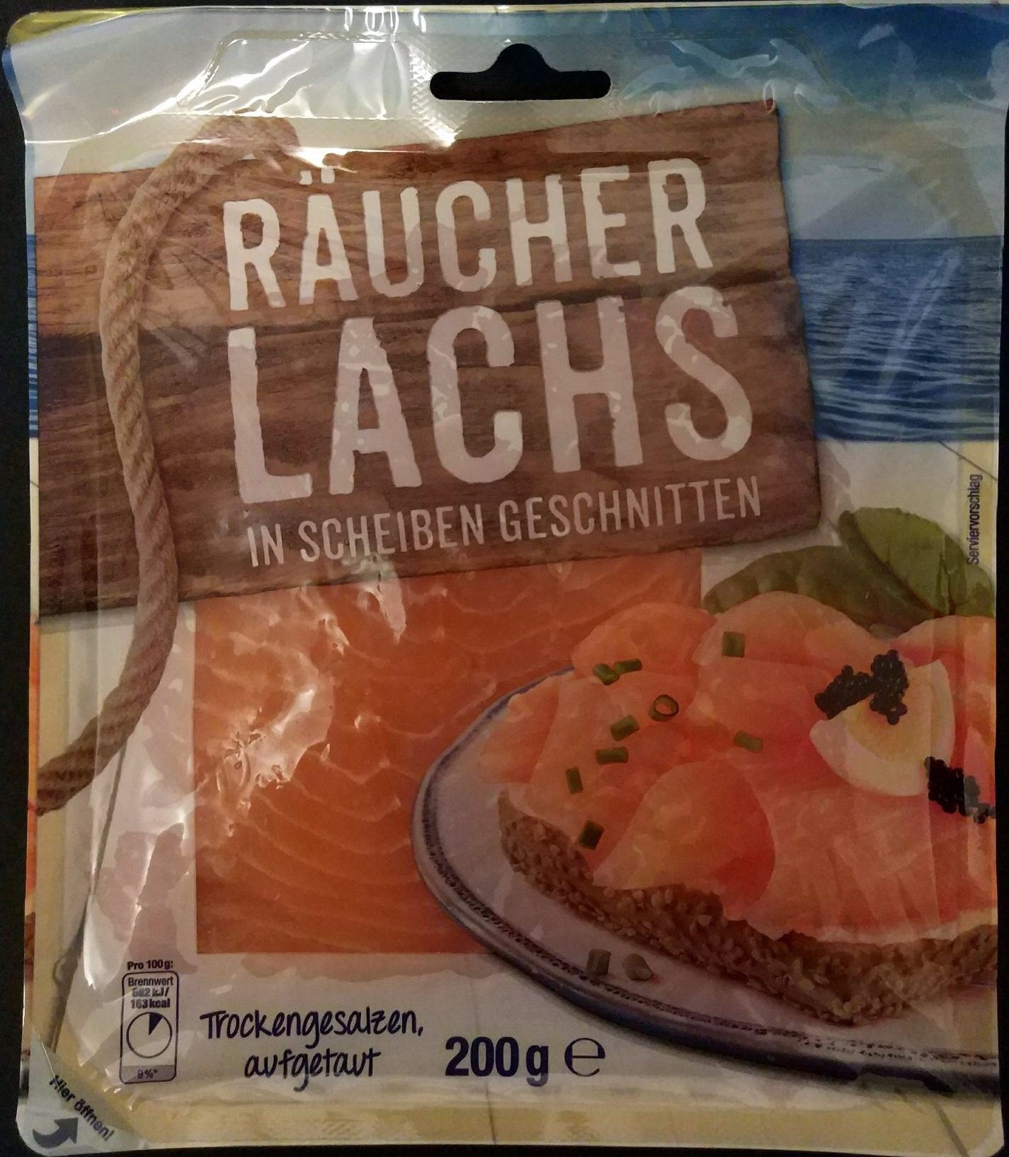 Echter Räucherlachs - Prodotto - de