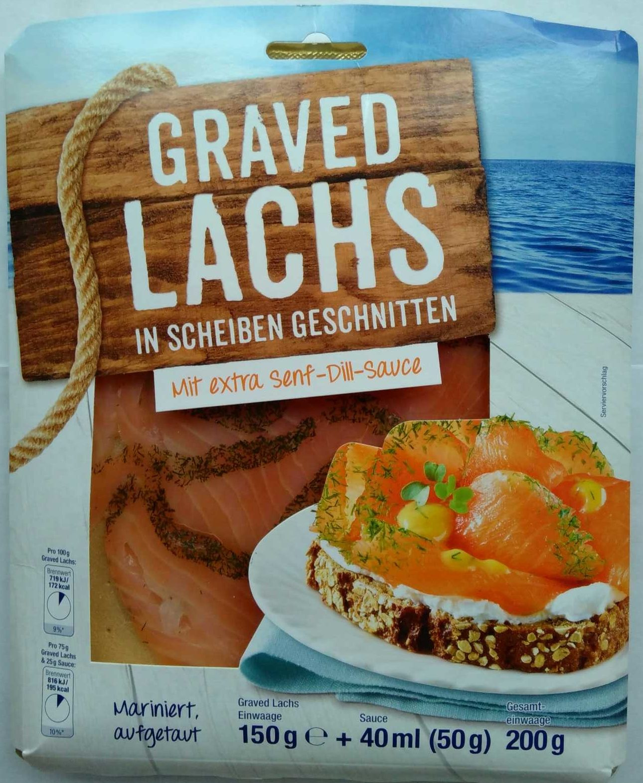 graved lachs norfisk 150 g 40 ml 50 g sauce. Black Bedroom Furniture Sets. Home Design Ideas