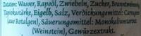 Sylter Salatfrische - Ingrédients - de