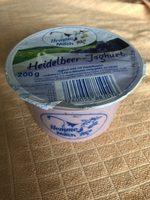 Joghurt mild mit Heidelbeeren - Produkt