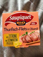 Thunfisch in Olivenöl mit Zitrone & Pfeffer - Produit - de