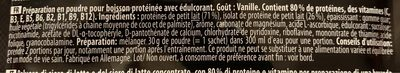 WHEY - Ingrédients - fr