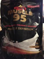 Inko X-treme Muscle 95 - Nutrition facts
