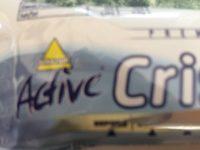 Active Crispy , Vanille White Chocolate - Produit - fr