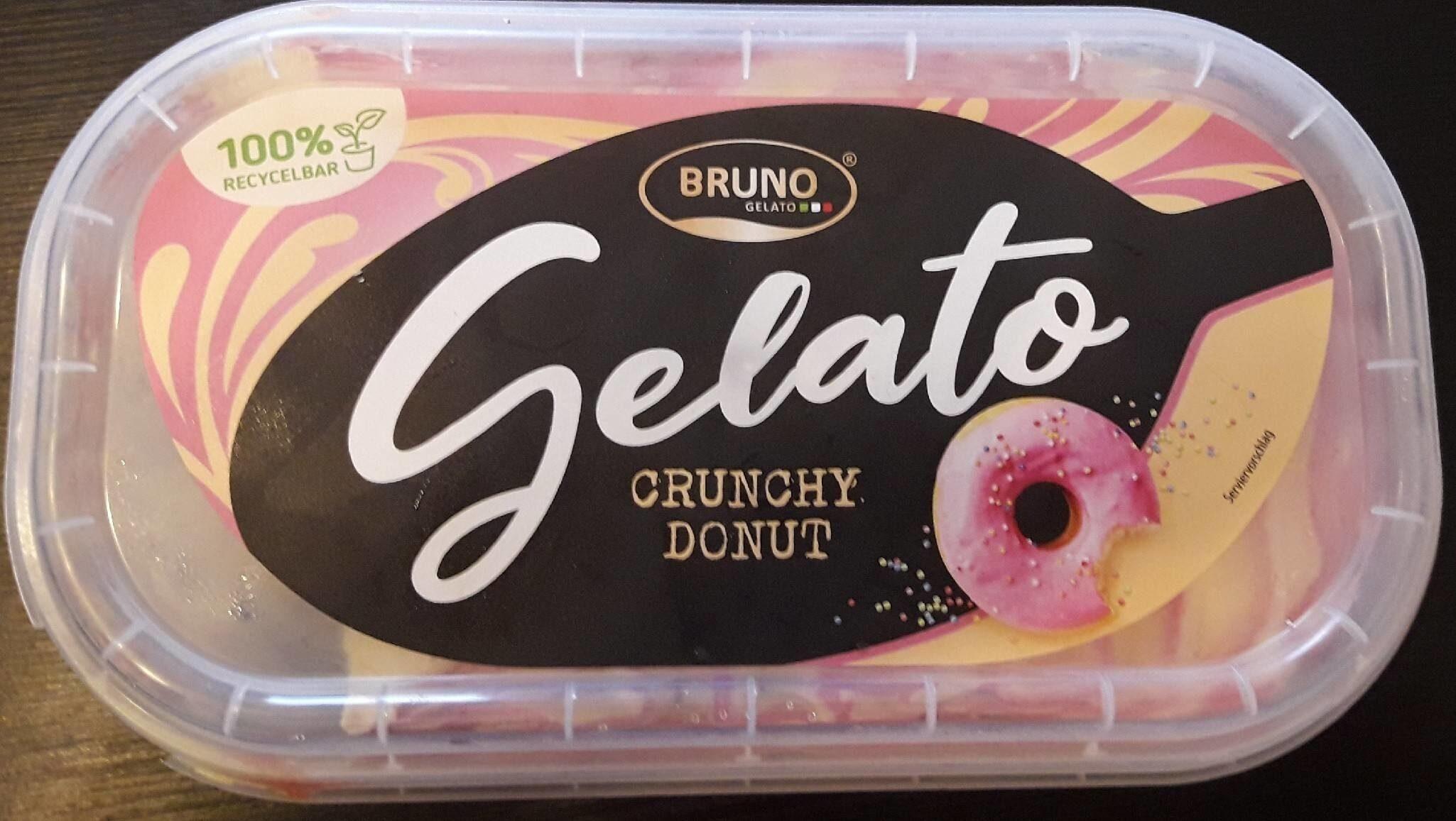 Gelato Crunchy Donut - Produit - de