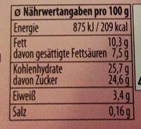 Gelato Crunchy Donut - Informations nutritionnelles - de