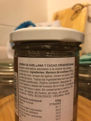 - Ingredientes