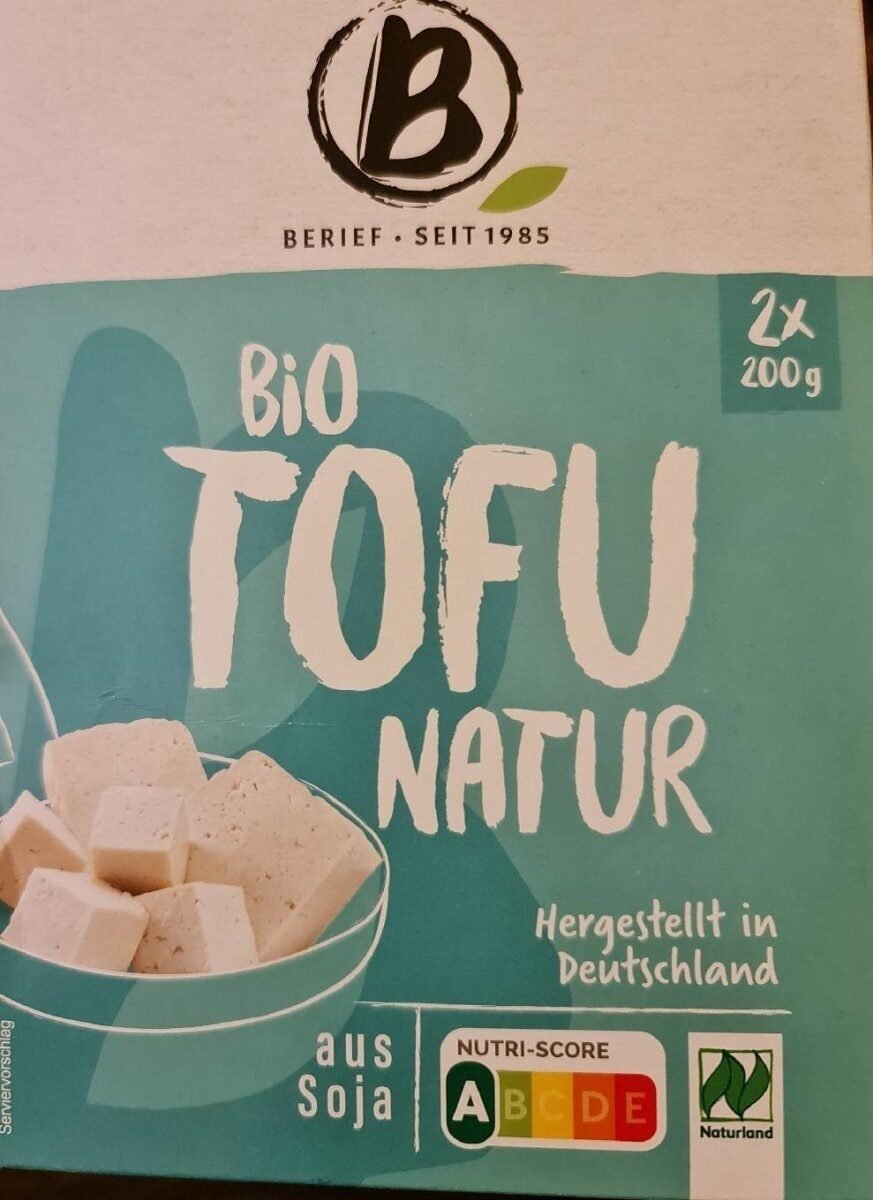 Bio Tofu Nature - Product - de