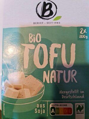 Bio Tofu Nature - Voedingswaarden - de