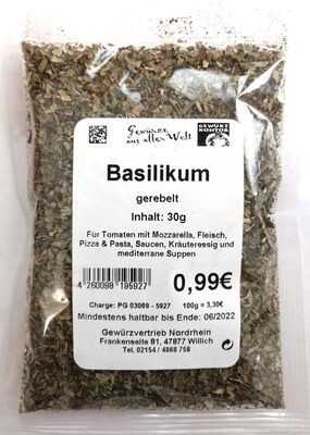 Gewürzkontor Basilikum - Product