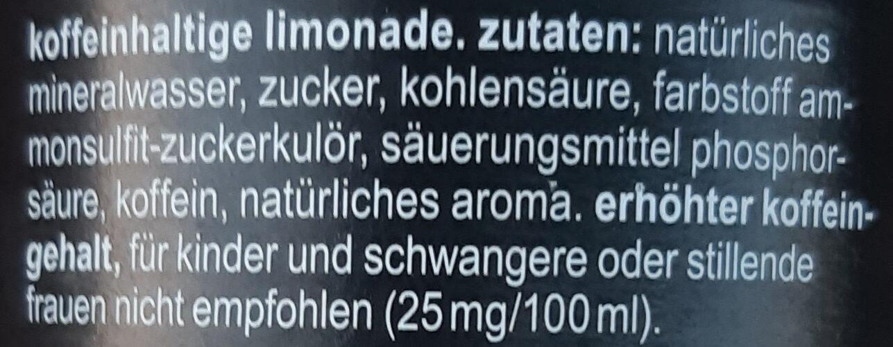 Fritz-Kola - Ingrédients - de