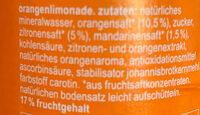 Orange - Ingredients - en