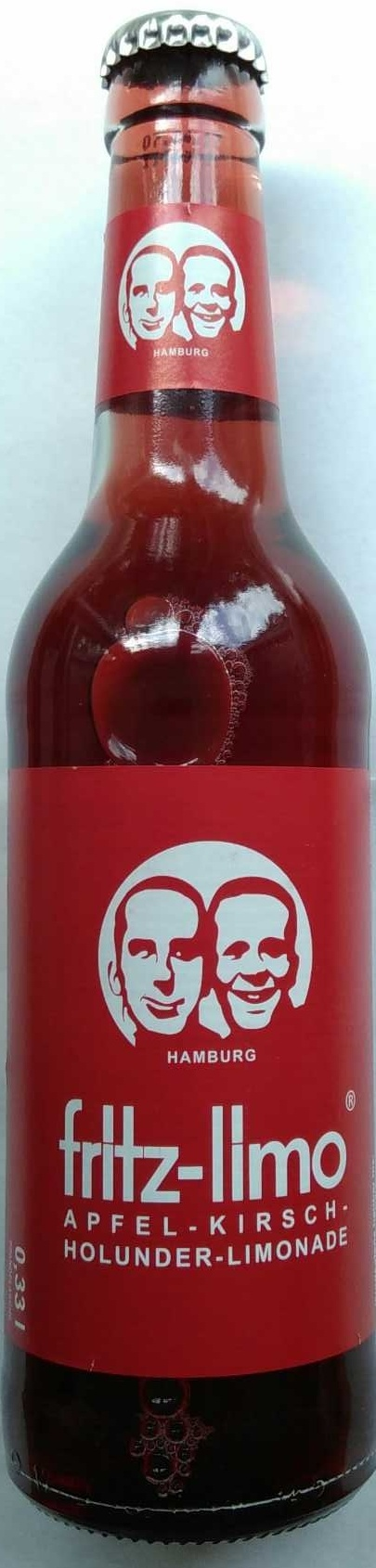 fritz-limo Apfel-Kirsch-Holunder-Limonade - Product - de