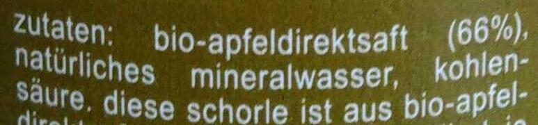 fritz-spritz - Ingredients - de