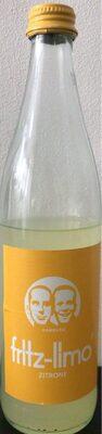Fritz-limo Zitrone - Produkt - de