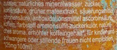fritz-mate - Inhaltsstoffe