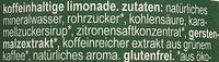 Grün & Gerecht - Inhaltsstoffe