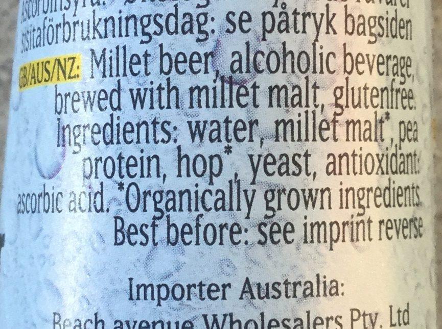 German-hirse-premium - Ingredients - en